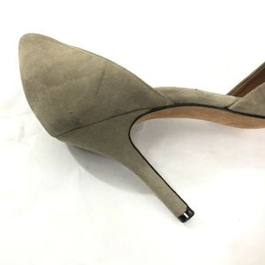 Vince Shoes - Vince. Suede Leather D'orsay Heels pointed toe